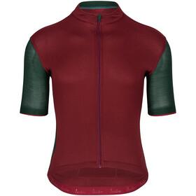 Isadore Signature Cycling 2.0 Trikot Kurzarm Herren rot/grün